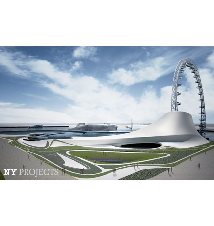 Winning Competition Entry for Big O, Yeosu Exposition 2012