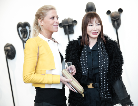 Elodie Taittinger and Yung Hee Kim